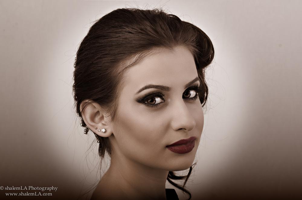 Model: Diana Khandzhyan MUA: Ella Vee Hair: Hair Nail Boulevard