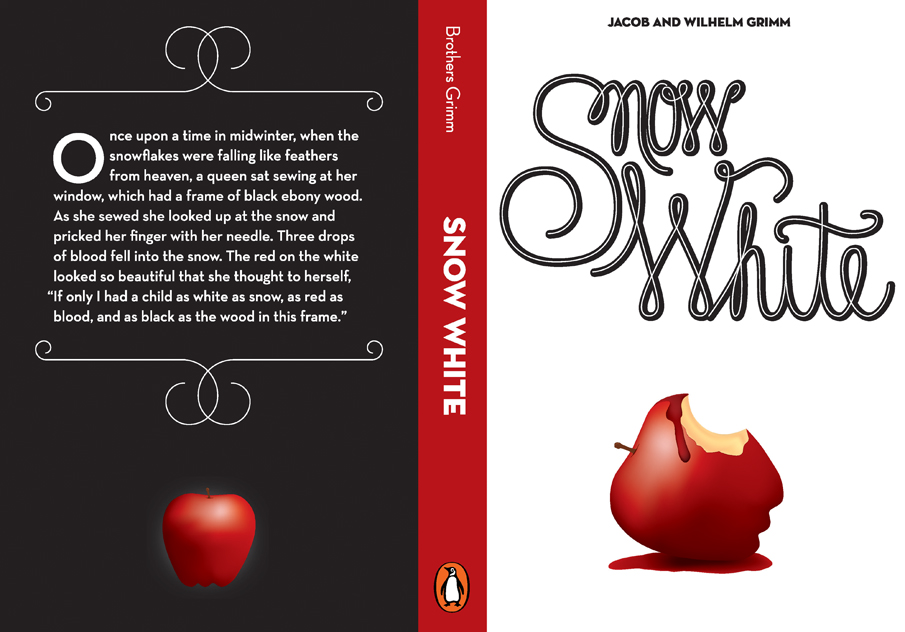 Snow White Book Cover — Cam Den Uyl