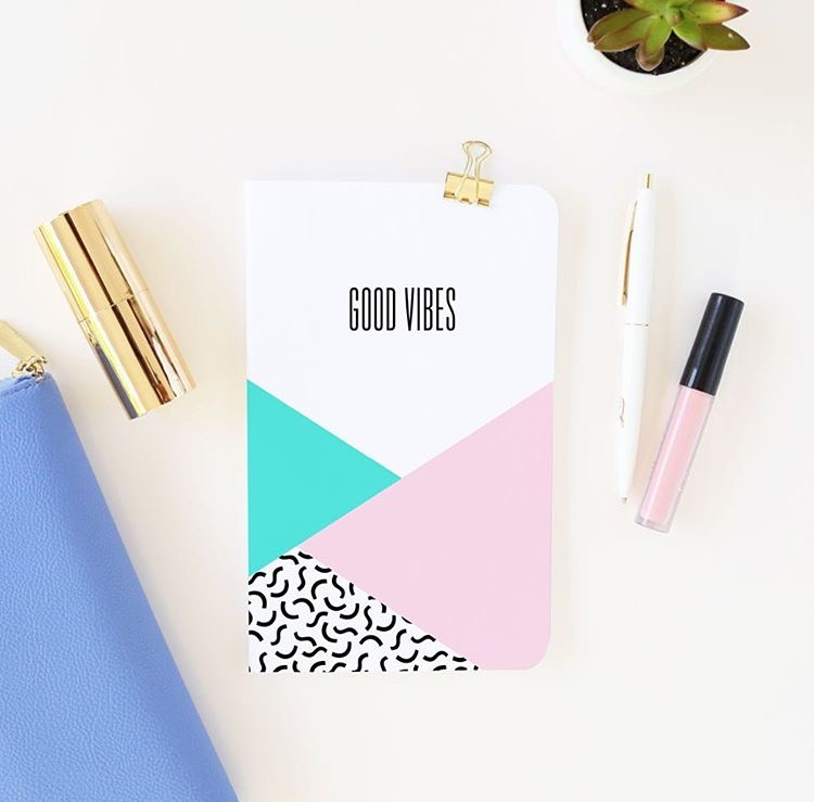 Good Vibes Journal via May Designs ($15)