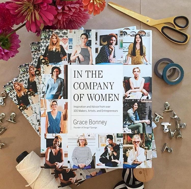 "The New Design*Sponge Book, ""In the Company of Women"" via Design Sponge"