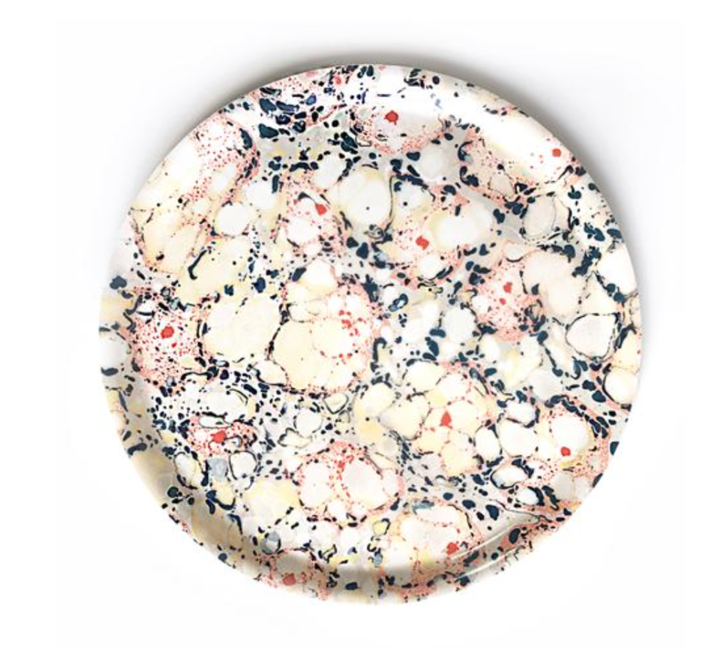 Large Round Floral Floating Tray via  Healdsburg Shed  ($42)
