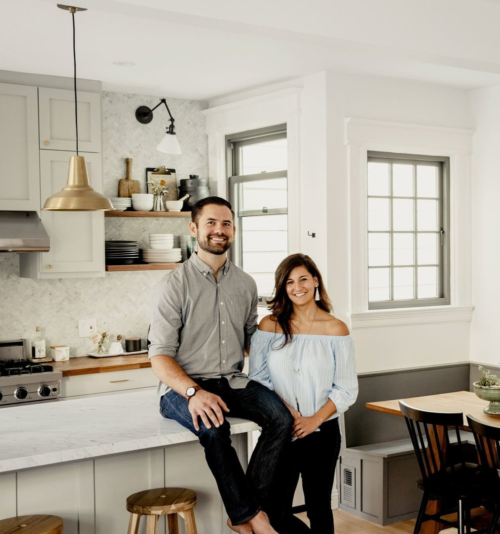 A Remodel Brings a Couple Closer Together - ooking back, it seems that interior designer Gina Gutierrez and Max Maloney were destined to remodel together. After all, how many couples go to the paint store on one of their first dates?