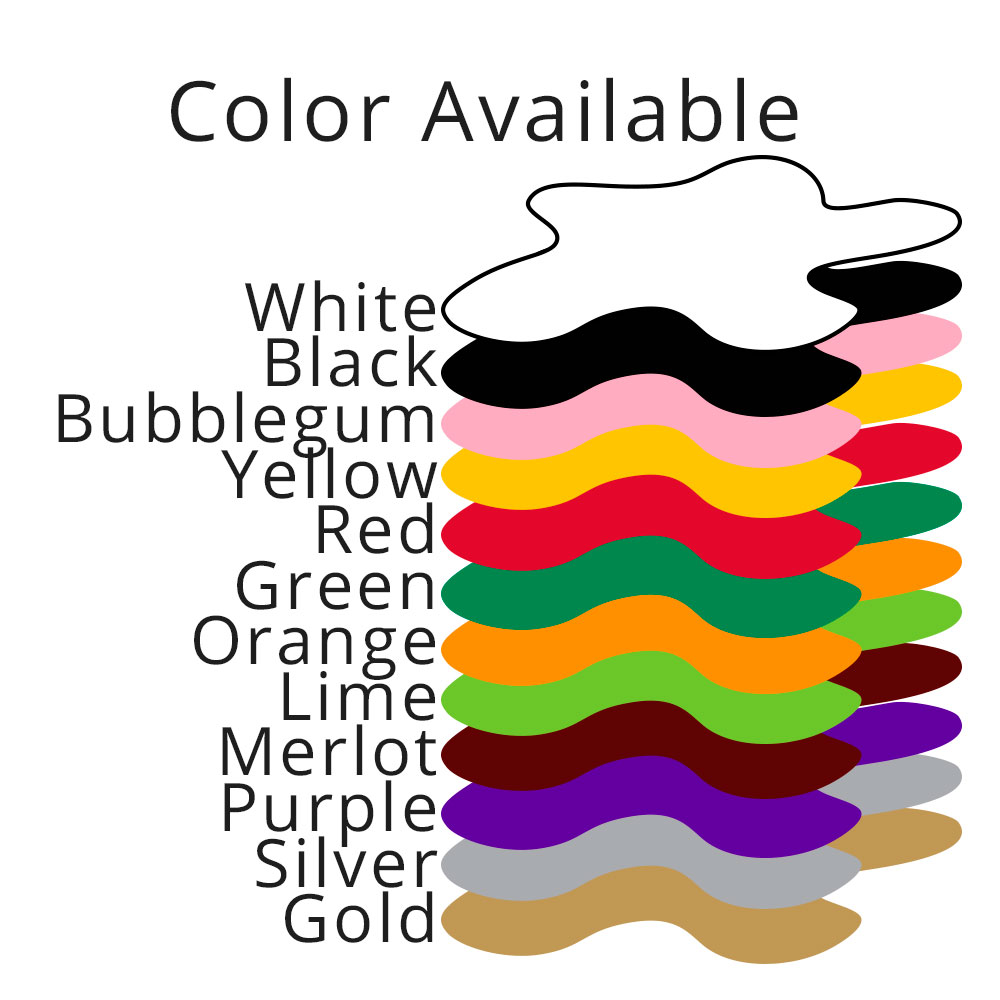 Many more colors in inventory and 100's of colors available upon request.