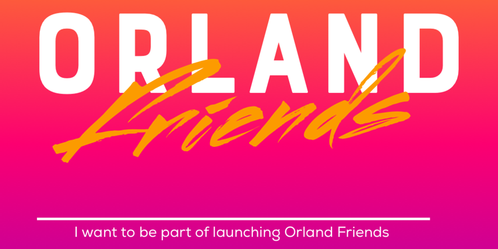 Go to www.orland.church to join the launch team to make Orland Friends a reality August 10 7pm | Launch Team Meeting @ Orland Starbucks August 12 9am | Orland Prayer Walk