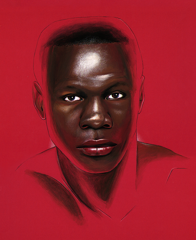 Chris Eubank portrait