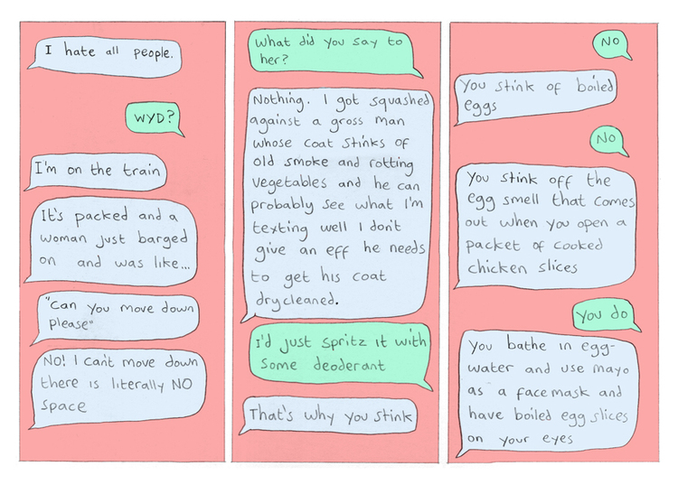 Sister BFF mini comic — Philippa Rice