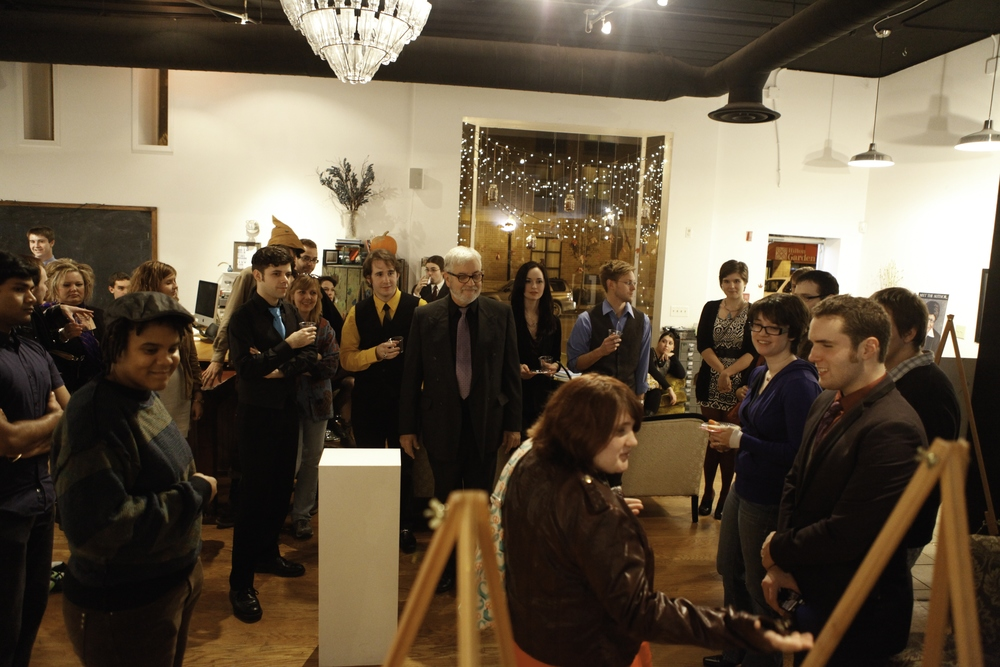 Wine & Sign, November 10th, 2012. At Blueline Creative Co-op http://bluelinestyle.com