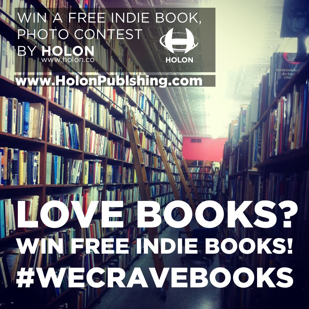 #WECRAVEBOOKS Photo Contest. Design & Photo by Holon.