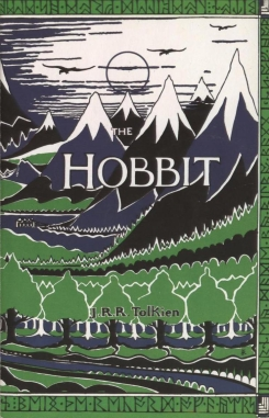 Later edition of the Hobbit, by J.R.R Tolkien.