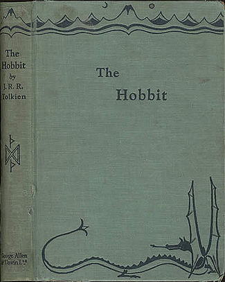 The First Edition of the Hobbit, or There and Back Again, by J.R.R Tolkien.