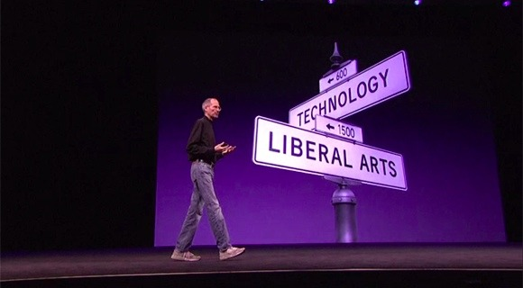 Steve Jobs at the Intersection of Liberal Arts and Technology