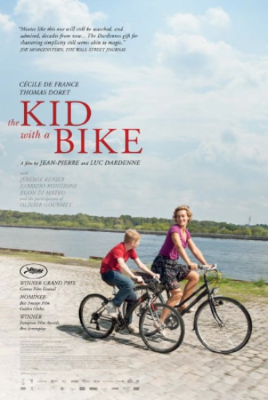the kid with a bike movie poster.JPG