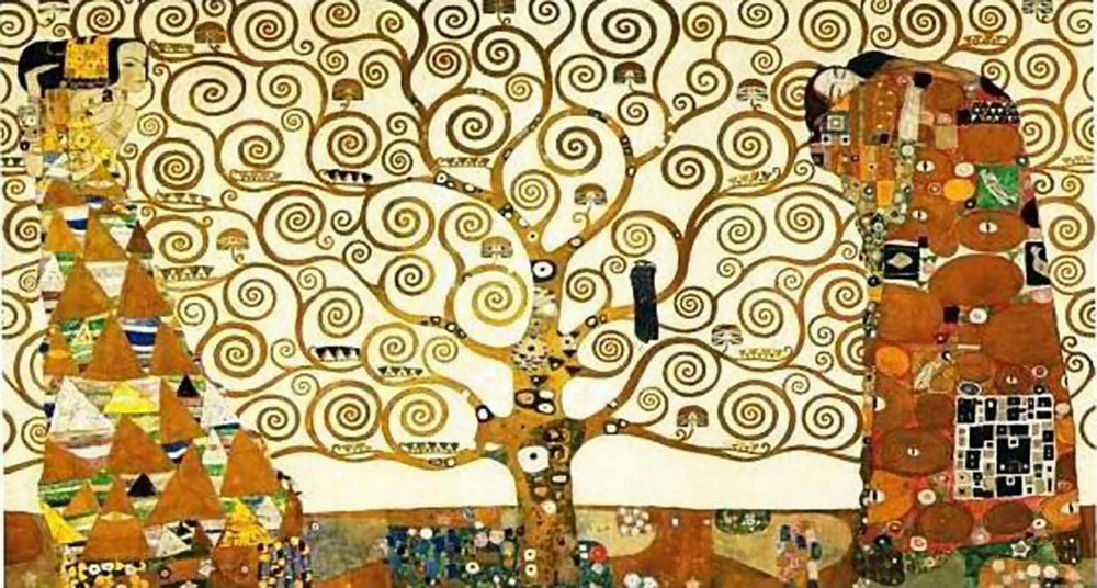 "Gustav Klimt, ""The Tree of Life"" (1909)"