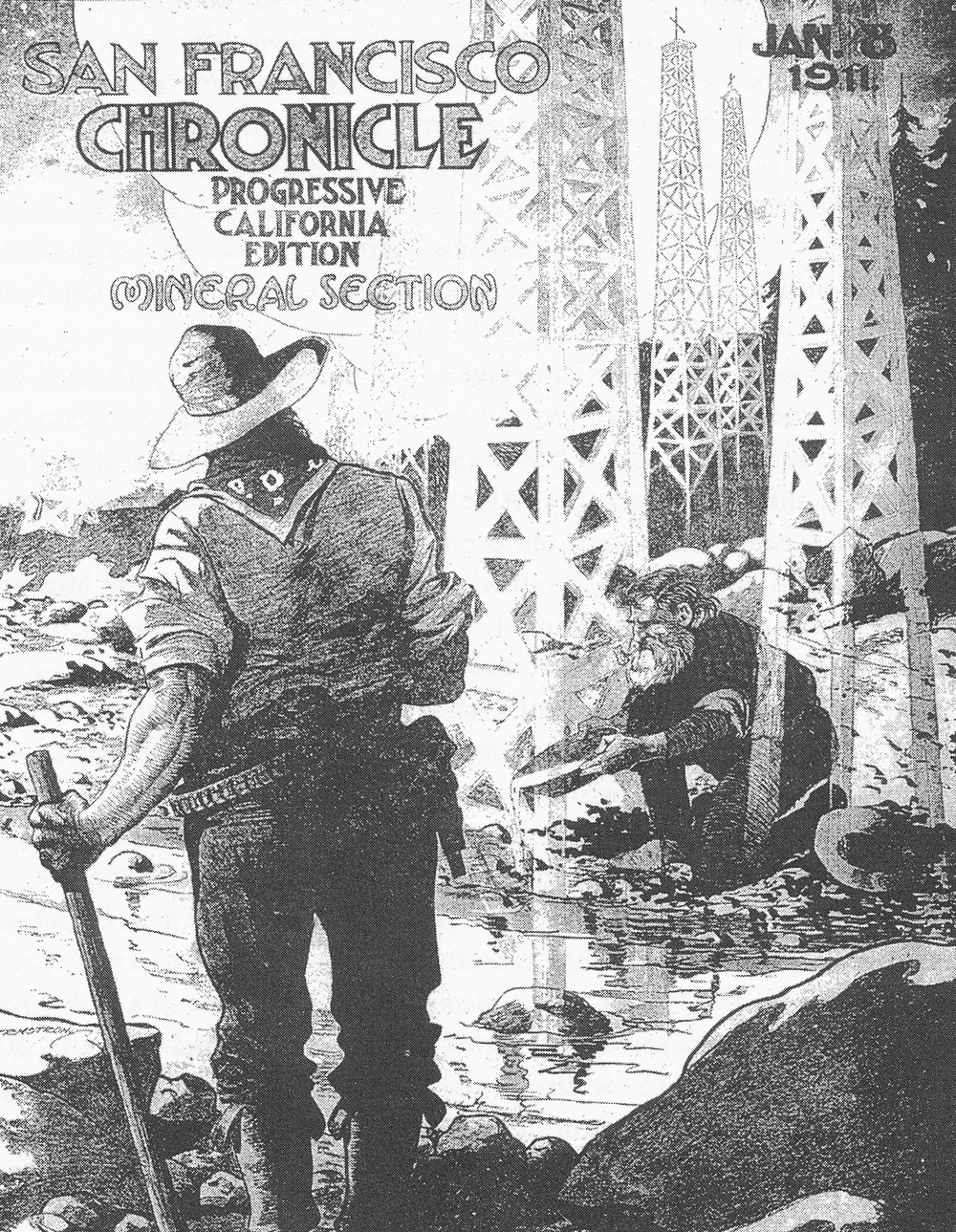 San Francisco Chronicle January 8, 1911