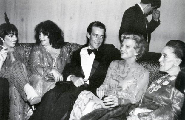 Betty Ford, Halston, Martha Graham, Liz & Liza. A decade in one photo.