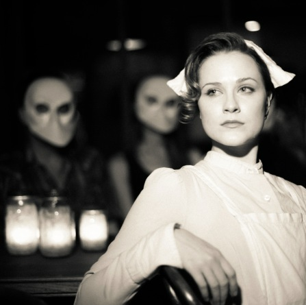 Evan Rachel Wood guest starring in Sleep No More.  (Sad to say, she wasn't the nurse who kissed me.)