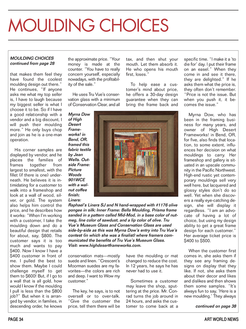 Art World News September 2014 - Page 34
