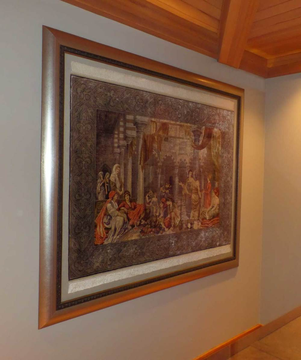 Stunning Hand Woven Turkish Rug: The Art of Framing, Preservation ...