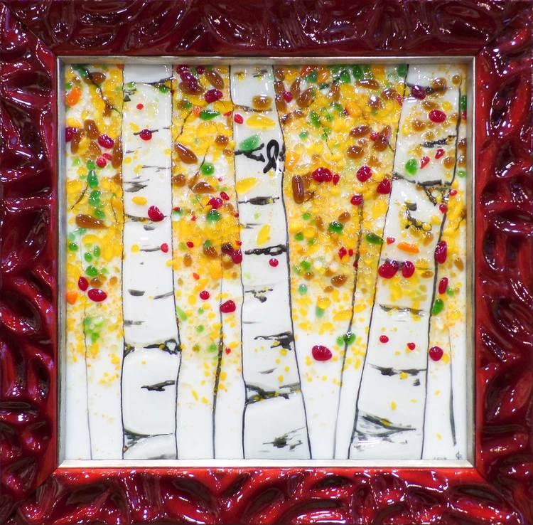 Fused Glass Art + Custom Frame = Perfection. — High Desert ...