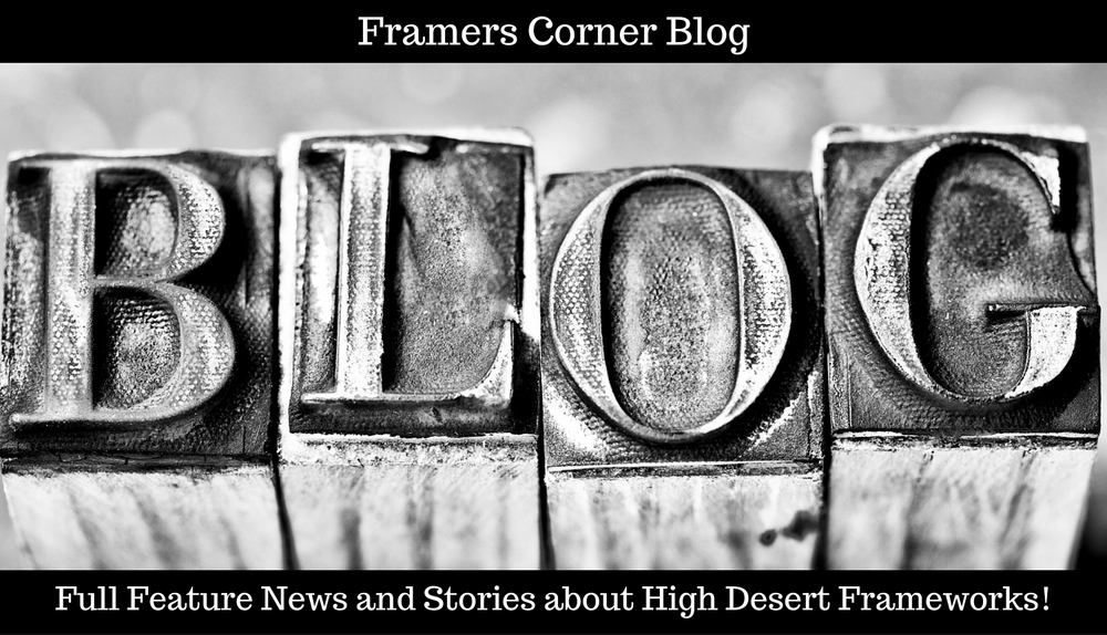 Click to view and subscribe to the Framers Corner Blog
