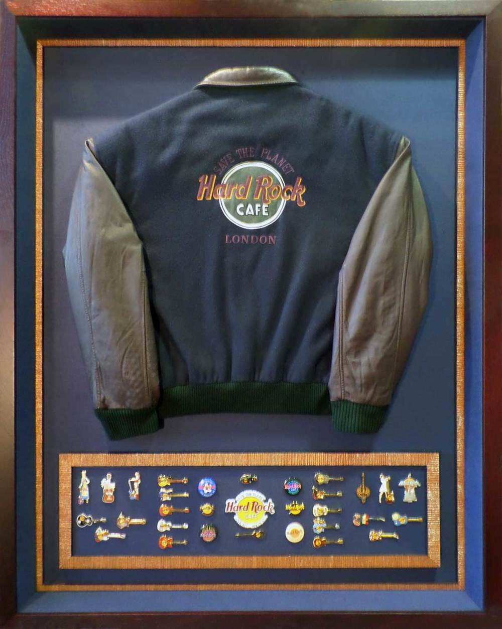 Hard Rock Cafe Shadow Box Framing