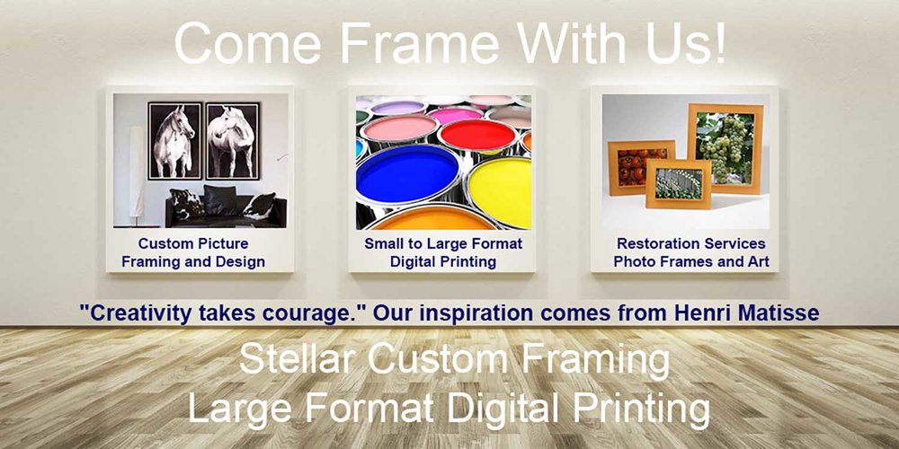 High Desert Framing Custom Picture Framing Design Studio — High ...