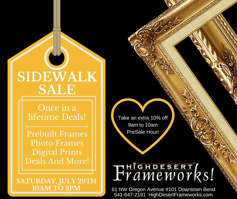 Events — High Desert Frameworks! Custom Picture Framing and Digital ...