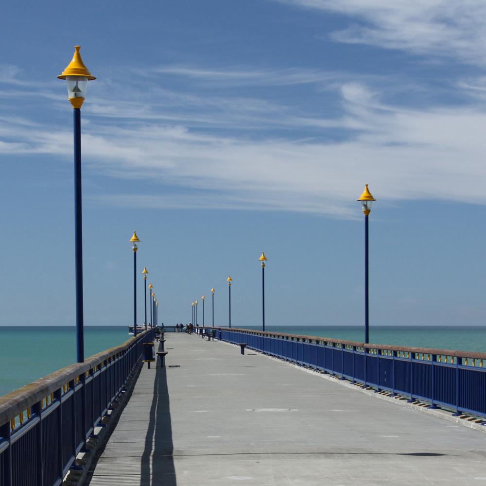 new brighton pier    Christchurch NZ