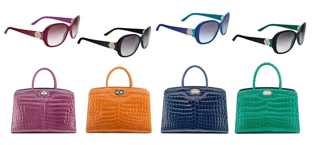 Bulgari Roma Sunglasses & Icona 10 handbags