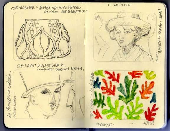 Henri Matisse Sketch Book