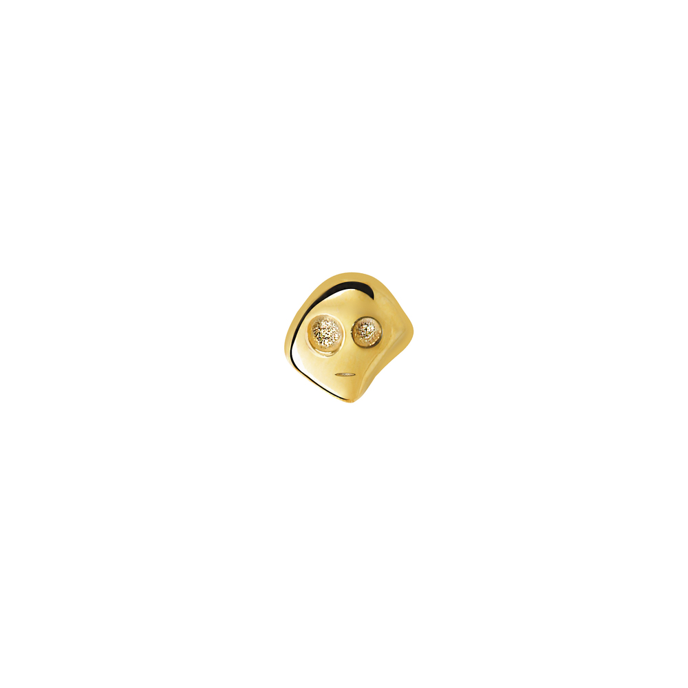 GE1002- 14K Spirit Earring- Strength (Front side)
