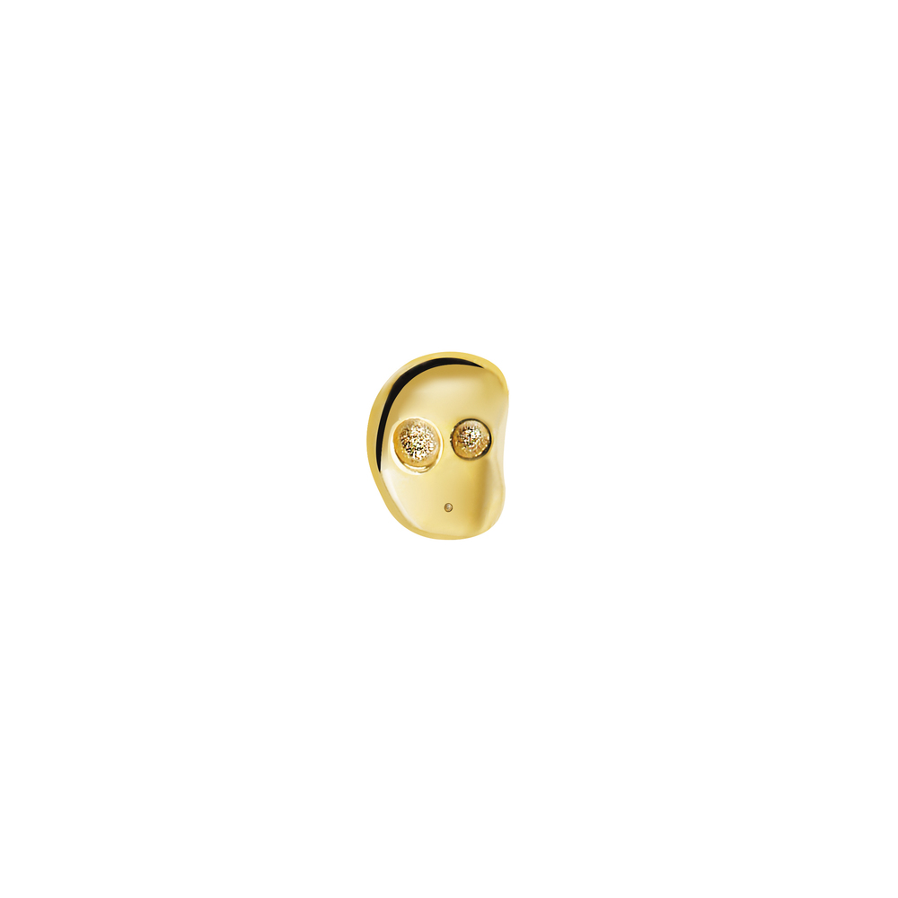 GE1003- 14K Spirit Earring- Wisdom  (Front side)