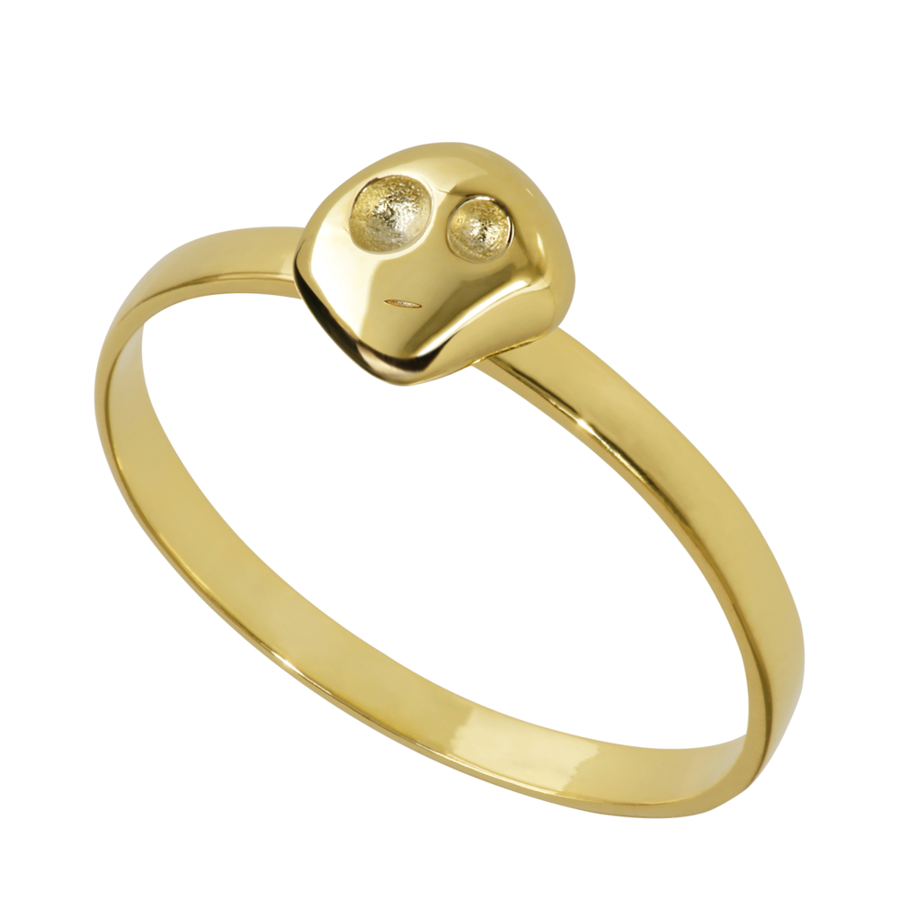 GR1002- 14K Spirit Ring- Strength ( different sizes available)