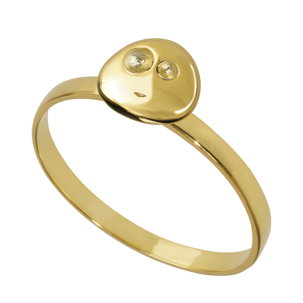 GR1004- 14K Spirit Ring- Joy (different sizes available)