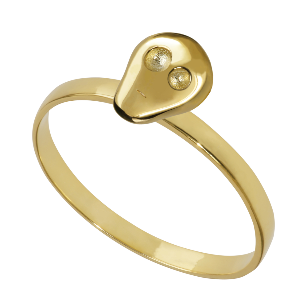 GR1005- 14K Spirit Ring- Passion (different sizes available)