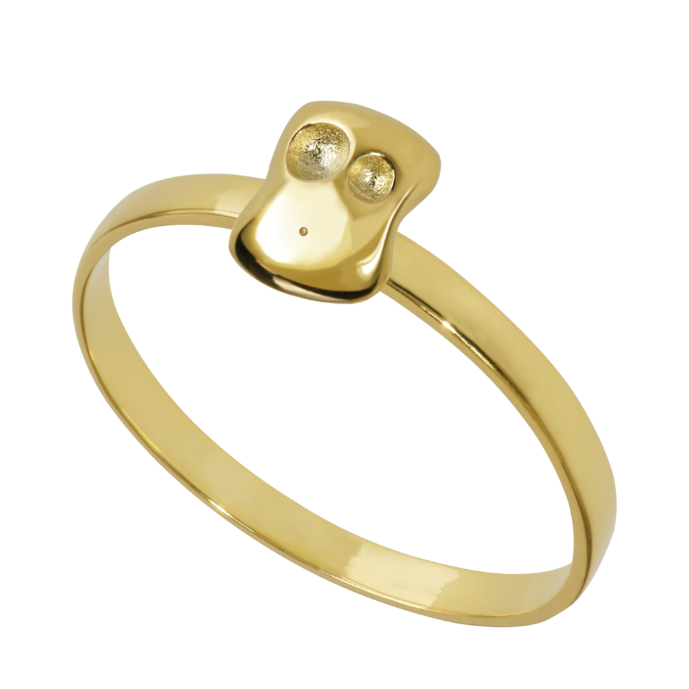 GR1006- 14K Spirit Ring- Peace (different sizes available)