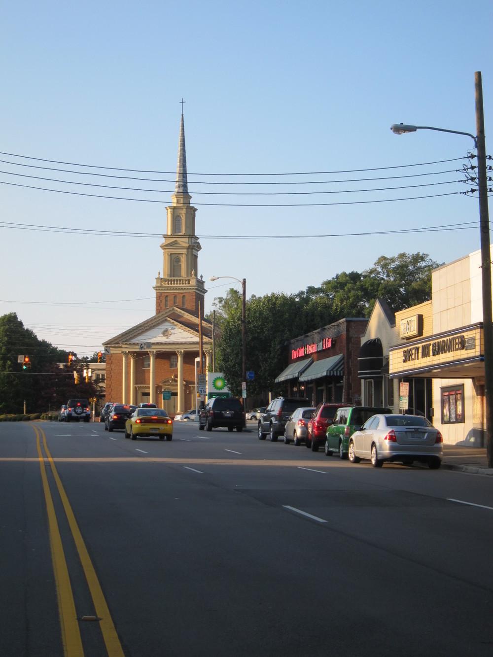 A neighborhood landmark