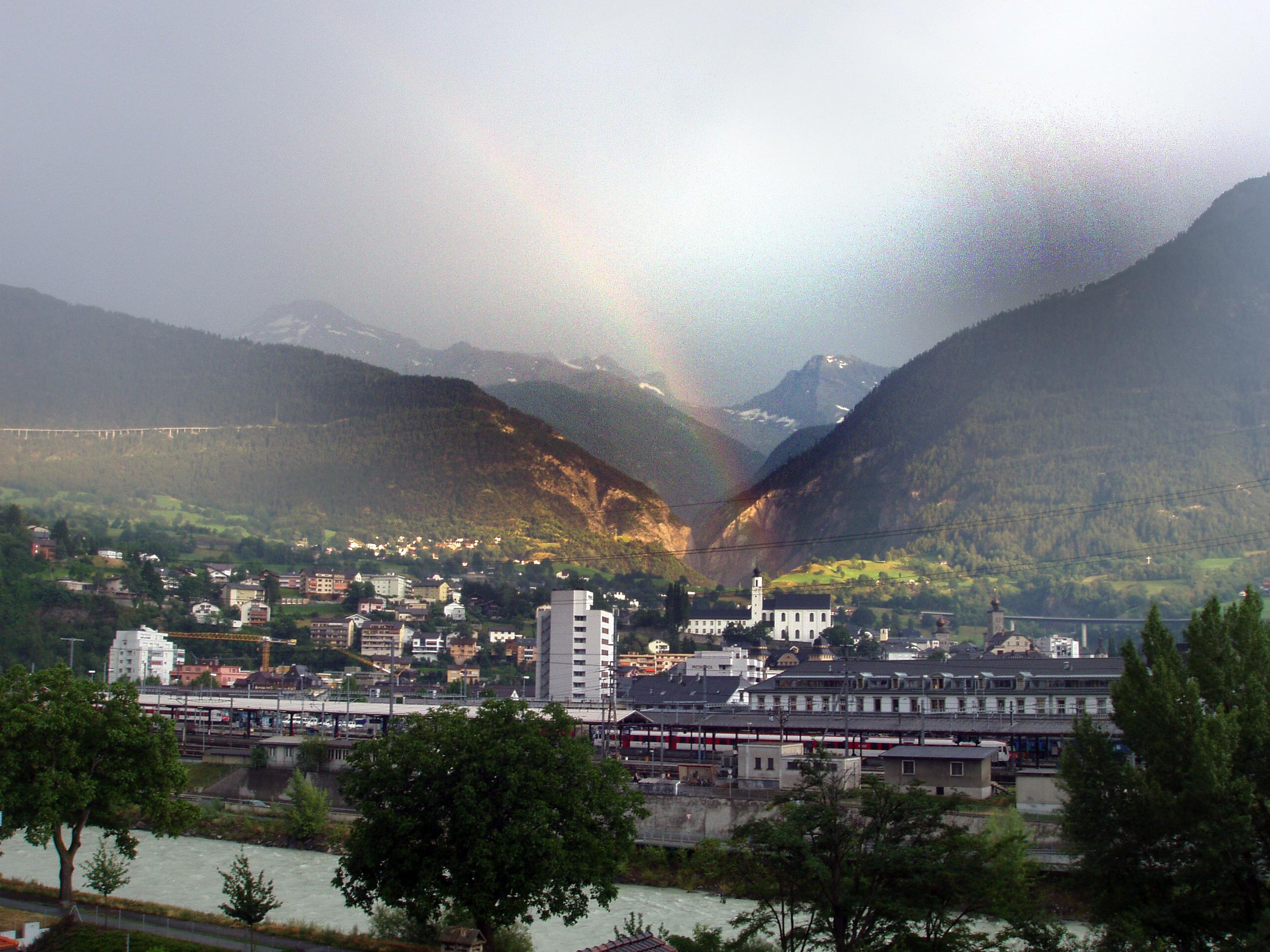 Brig, Valais, Rainbow