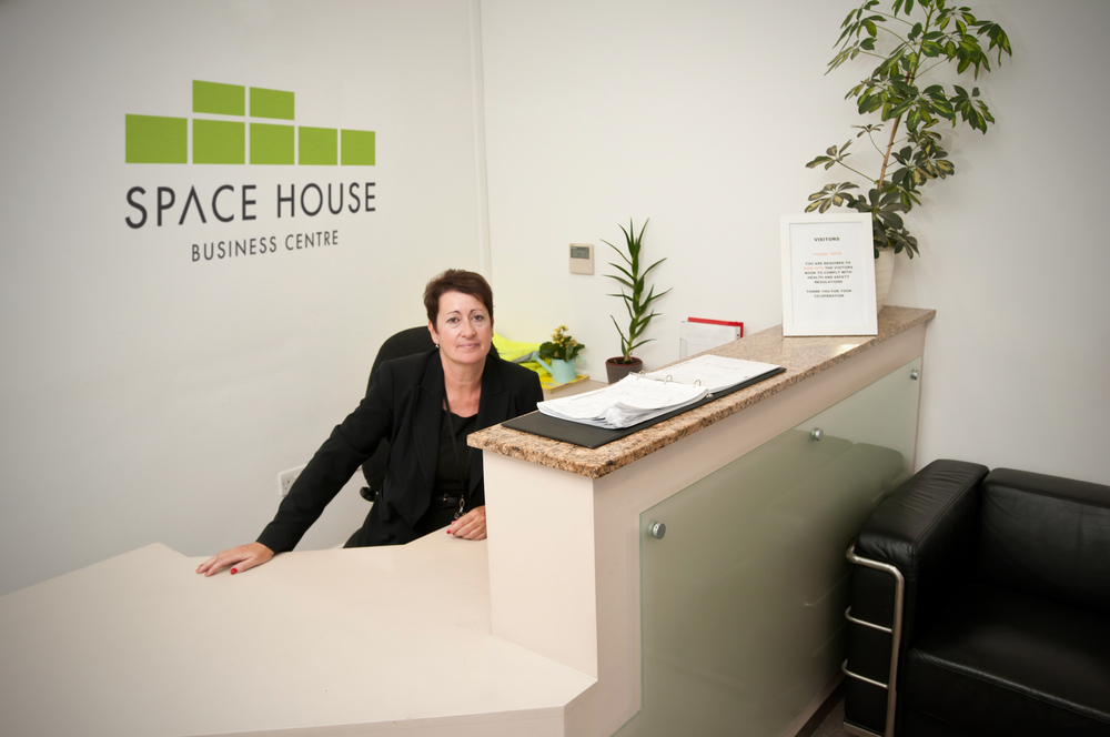 Receptionist Space House Park Royal