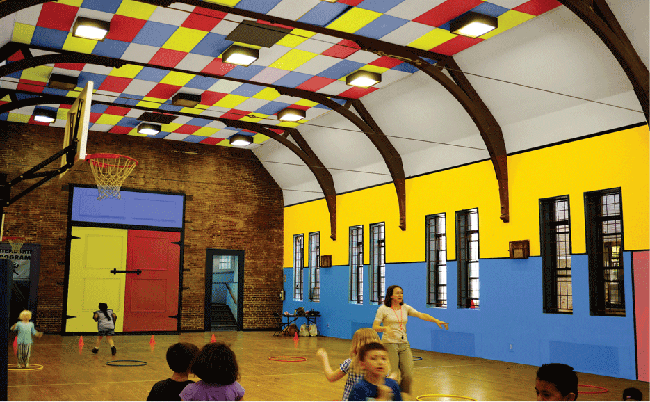 Camp Friendship After School Recreation Gym by M.Arch Archtiects