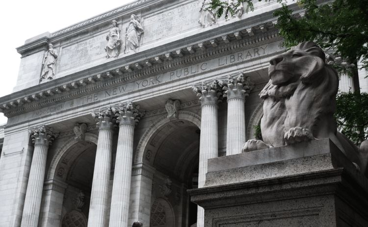 New York Public Library South Court    New York, NY