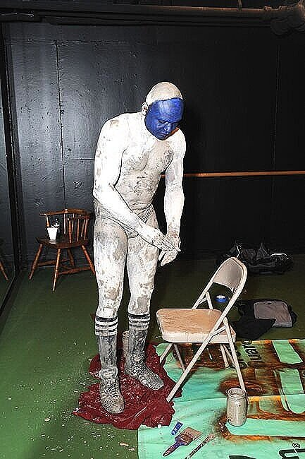Rites of Blue Impediment, 2010, Haverford, PA.