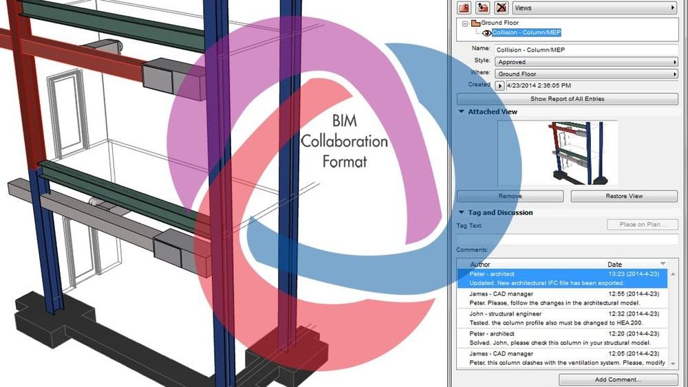 OPEN BIM ArchiCAD 18 continues to support OPEN BIM workflows and introduces the first architectural BIM application with full BIM Collaboration Format support. Më shumë...