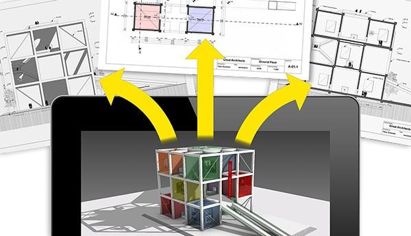 """BIM Vizualizimi ARCHICAD STAR(T) EDITION 2017 sjell vizualizimin e projektit në një hap përpara duke mundësuar krijimin e """"BIMx Hyper-models"""" dhe pamjet e """"two-point perspective views"""". -BIMx Hyper-models mund të eksportohet, duke ofruar navigimin e përmbajtjes së projektit 2D të integruar në 3D të ndërtesës virtuale, si dhe prezantimin interaktiv të BIM projektit në pajisjet mobile. -Në pamjet e 3D perspektivës, Përdoruesit mund të kalojnë në """"two-point perspective"""" nga çfardo pozite të kamerës, duke e rruajtur pozitën origjinale dhe këndin e pamjes. Si rezultat, të gjitha skajet vertikale shëndrohen vertikale në projeksionin e perspektivës."""