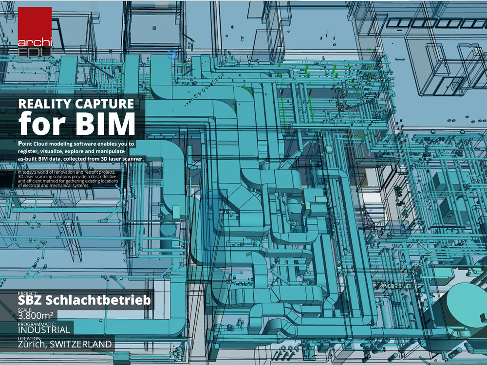 Reality Capture of MEP for BIM