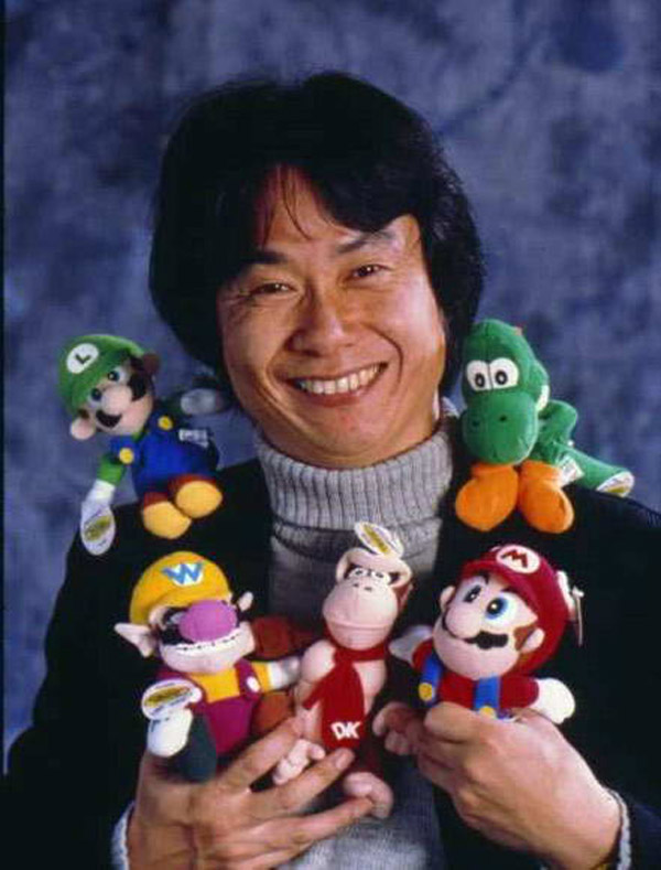 It's not like we could ever stay mad at you Miyamoto, not with that smile