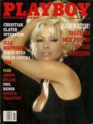 When was the last time you read an issue of Playboy for the articles? Source: Amazon