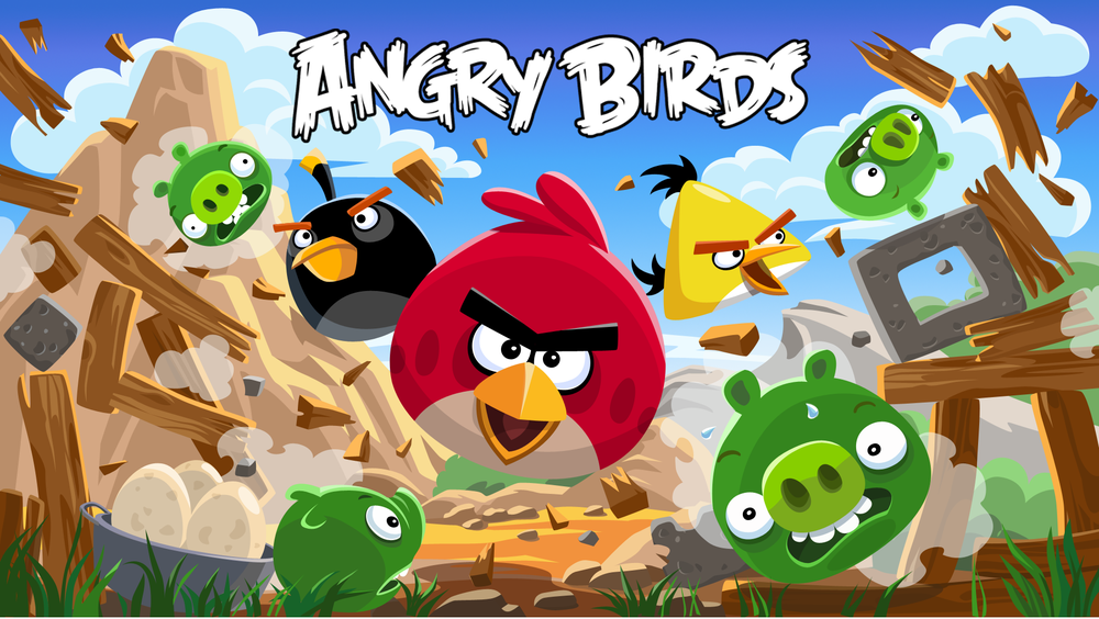 The simplest, yet most challenging game you'll ever play. Source: Angry Birds wikia