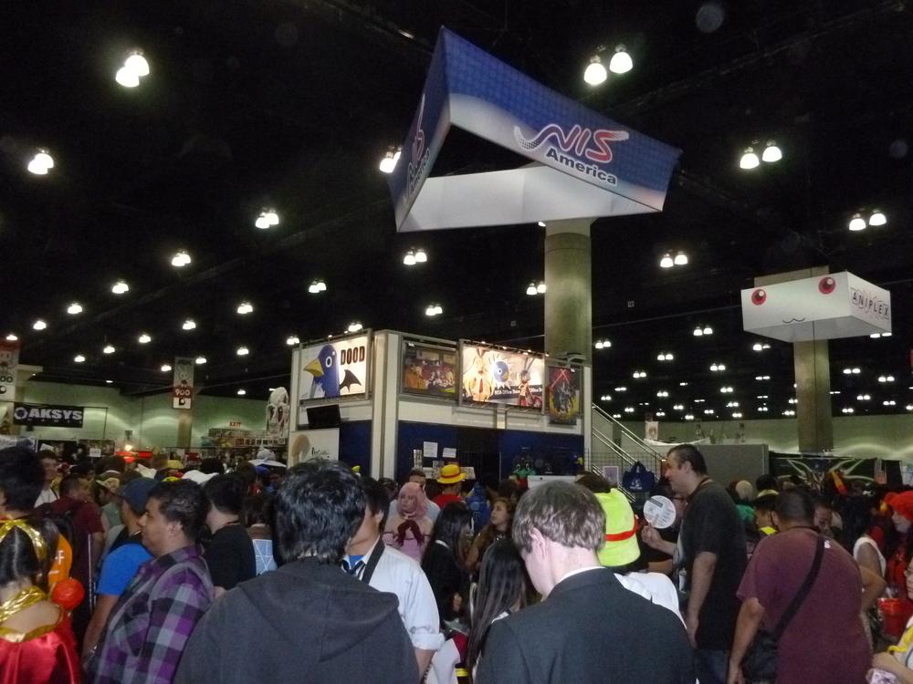 Crowded NIS America Booth.JPG