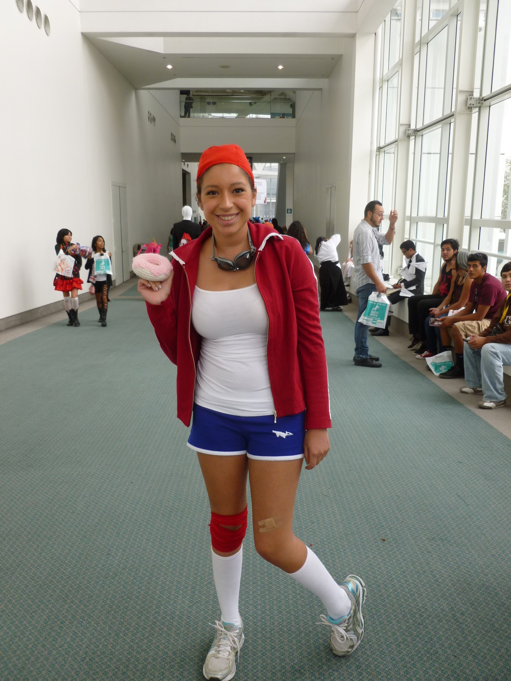 A Danganronpa cosplayer (ironically enough, the first game was announced by NIS America at AX).JPG